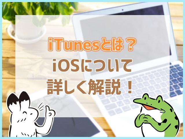 iTunesとは?iOSについて詳しく解説!